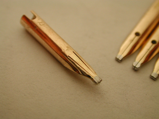 Music Nib for a Parker 51 - R & R: (Repair and Restoration