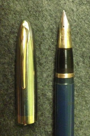 Sheaffer Sentinel Deluxe, Plunger/Vac filler model, detail